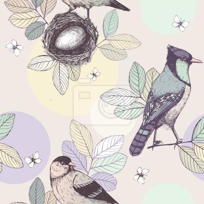 Tapeta Ptasie gniazdo