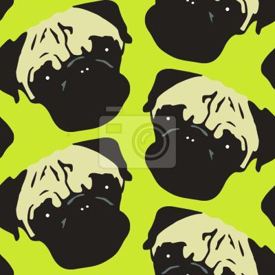 Tapeta Puggy Pop Lime