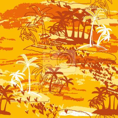 Tapeta Rajska Wyspa Żółta