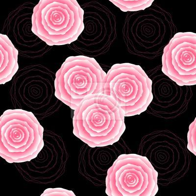 Tapeta Róże Styl Vintage