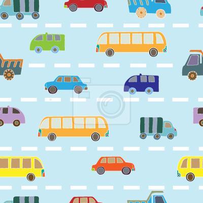 Tapeta Ruch drogowy