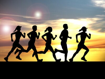 Tapeta Running - 140
