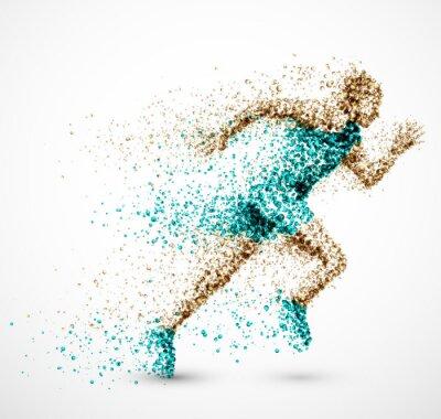 Tapeta Running man