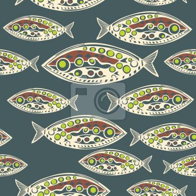 Tapeta Ryby polinezyjskie