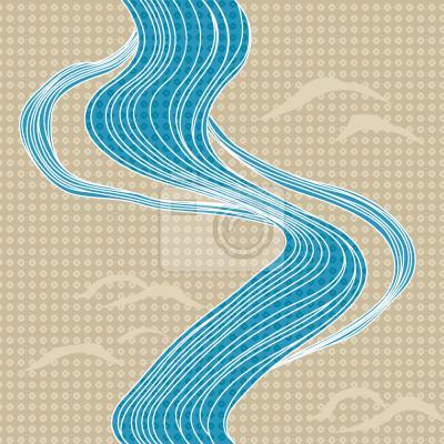 Tapeta Rzeka w Japonii