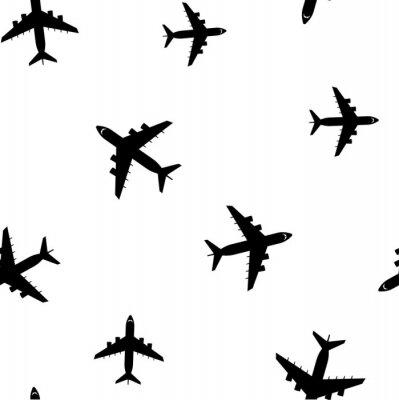 Tapeta Samolot, bezszwowe wzór