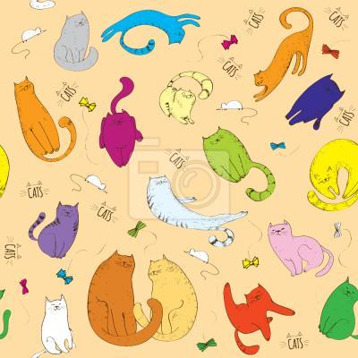 Tapeta Słodkie Koty
