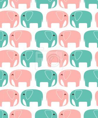 Tapeta Słonie W Miłości