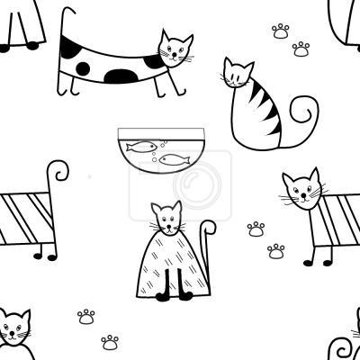Tapeta Śmieszne koty