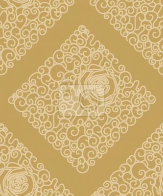 Tapeta Śpiąca Piękno złota