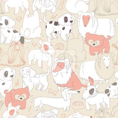 Tapeta Spotkanie psów
