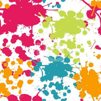 Tapeta Spray rozpryskiwania farby