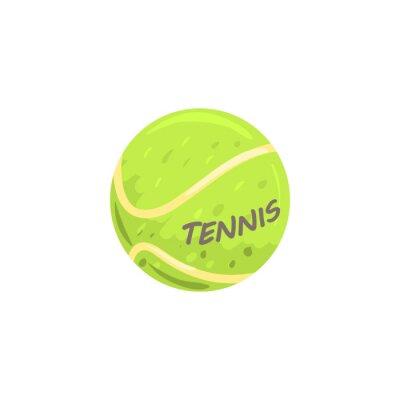 Tapeta Sprzęt do kulek tenisowych sportowych ilustracji wektorowych
