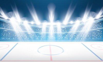 Tapeta Stadion Hokejowy na lodzie.