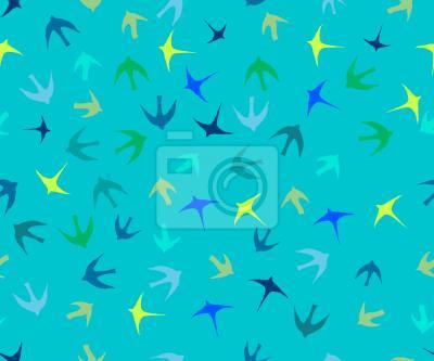 Tapeta Stado ptaków