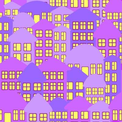 Tapeta Streszczenie krajobraz miasta.