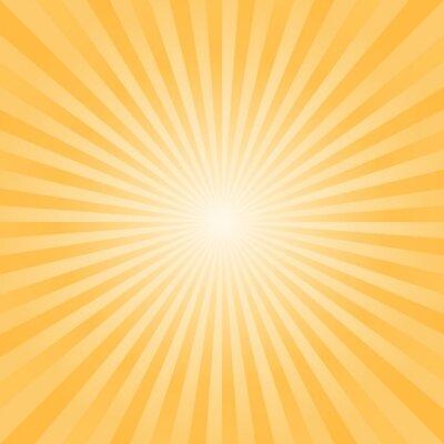 Tapeta Streszczenie tle. Jasne tło żółte promienie. Wektor