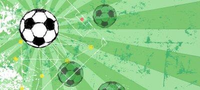 Tapeta Szablon projektu Piłka nożna / Piłka nożna, wolne miejsce na kopię, wektor