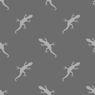 Tapeta Szary Salamander Bezszwowych Wzorca