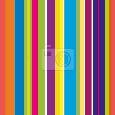 Tapeta Szczęśliwi Stripes