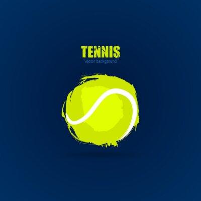 Tapeta Tenis, piłka streszczenie, projekt, element baneru sportowego, plakat, karty, drukowanie na koszulki.