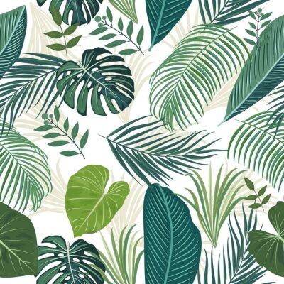 Tapeta Tropical vector seamless pattern