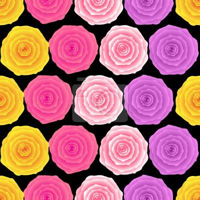 Tapeta Vintage Róże