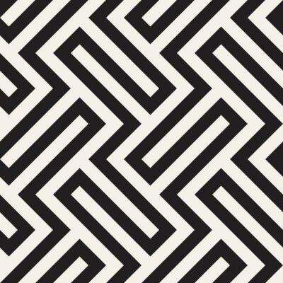 Tapeta Wektor wzór Nowoczesne stylowe streszczenie tekstura. Powtarzające się geometryczne płytki