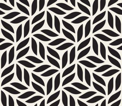 Tapeta Wektorowy bezszwowy wzór. Nowoczesny stylowy streszczenie tekstura. Powtarzanie geometrycznych kształtów z elementów w paski