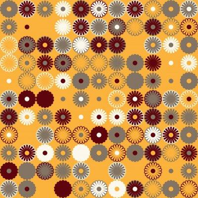 Tapeta Wektorowy tło z abstrakcjonistycznym geometrycznym wzorem