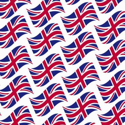Tapeta Wielka Brytania-flagi-wektor