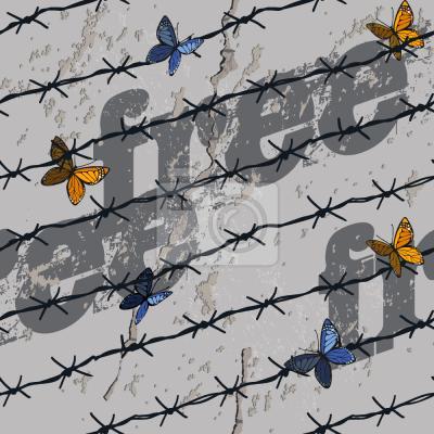 Tapeta Wolność Motyle