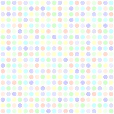 Tapeta Wzór kropki polka. Jednolite tło wektor kropek
