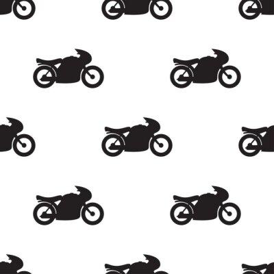 Tapeta Wzór motocykla