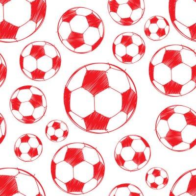 Tapeta Wzór piłki nożnej.