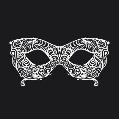 Tapeta wzorzyste Masquerade Mask