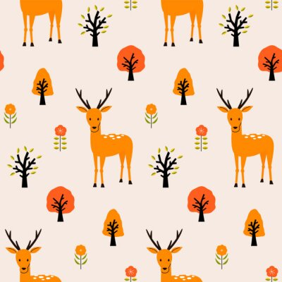 Tapeta 秋の森パターン