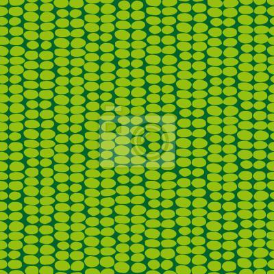 Tapeta Zielony Liść Retro