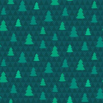 Tapeta Zimowy wzór. Boże Narodzenie tło wektor
